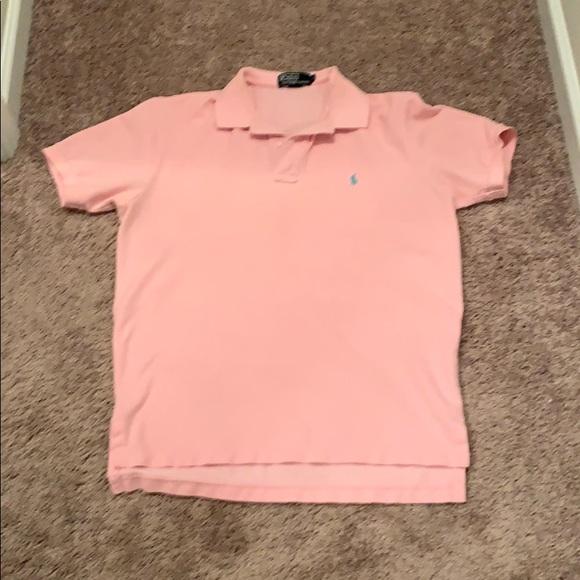 0ff5e405c671 Polo by Ralph Lauren Shirts | Mens Medium Light Pink Polo Shirt ...